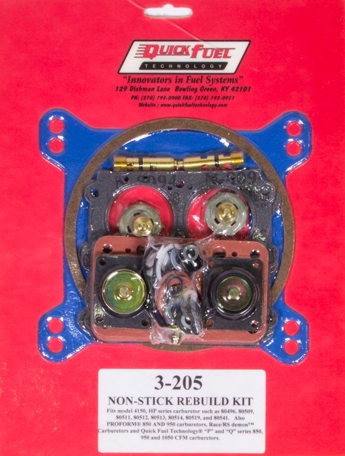 Quick Fuel Technology 4150 Rebuild Kit - Non-Stick