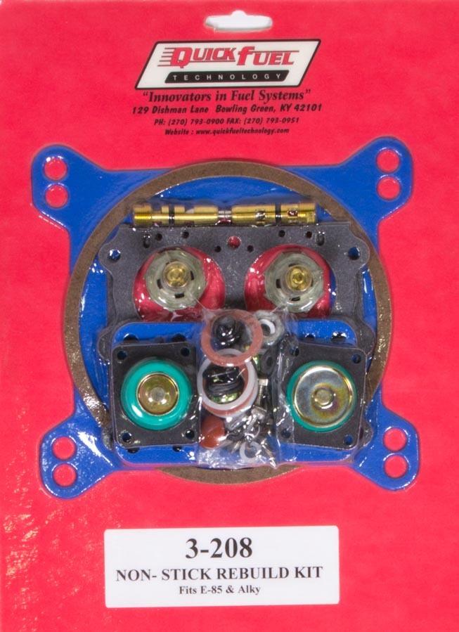 Quick Fuel Technology E85 Carb Rebuild Kit 650/750/850/950FCM