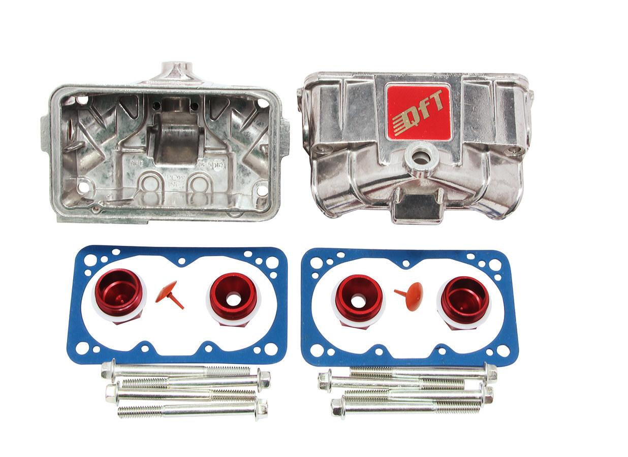 Quick Fuel Technology Fuel Bowl Conversion Kit - Aluminum