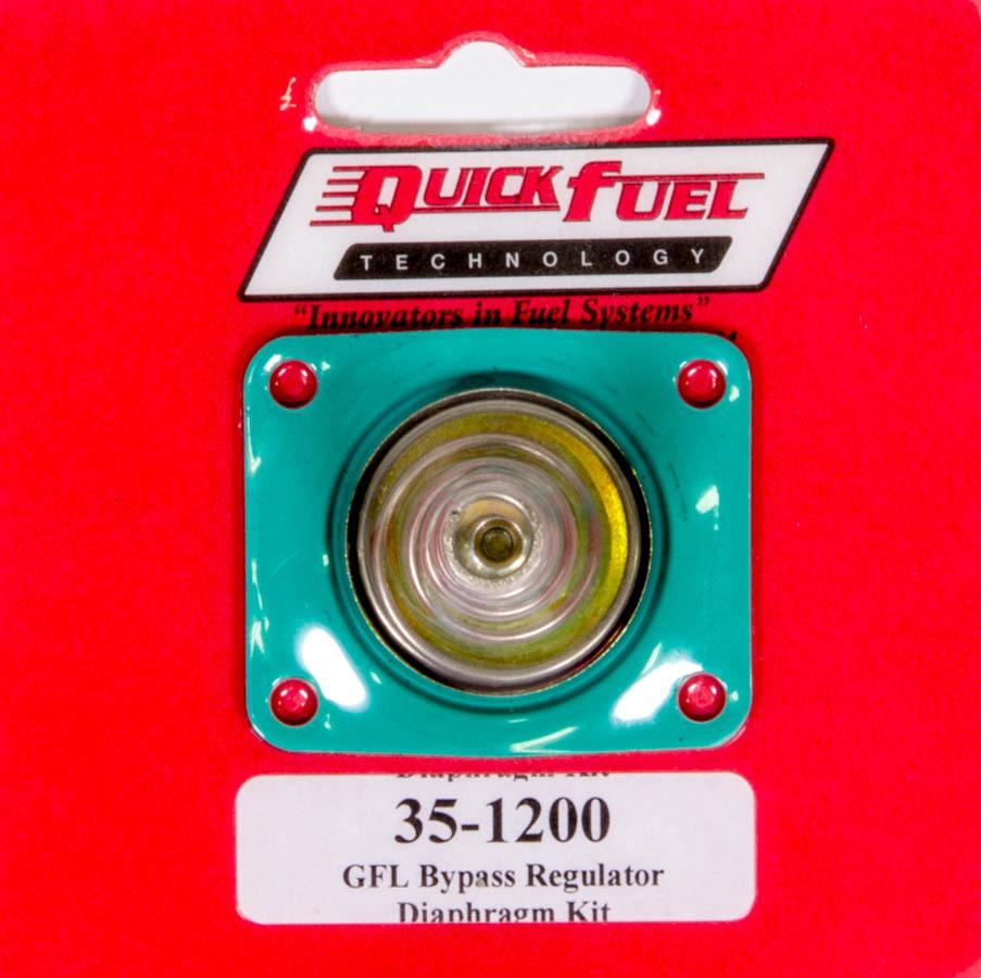 Quick Fuel Technology GFLT Bypass Pressure Regulator Diaphram