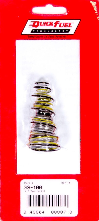Quick Fuel Technology Vacuum Secondary Spring Kit