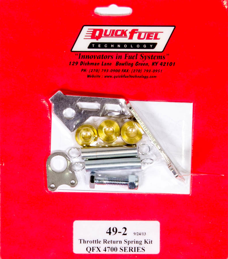Quick Fuel Technology Throttle Return Spring Kit - QFX Carbs