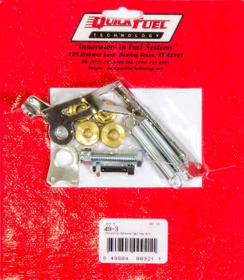 Quick Fuel Technology Throttle Return Spring Kit - Square Flange