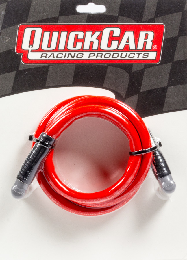 Quickcar Racing Products Coil Wire - Red 48in HEI/HEI