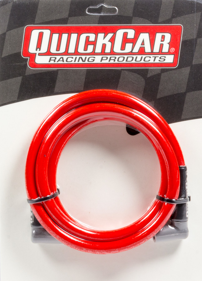 Quickcar Racing Products Coil Wire - Red 60in HEI/HEI
