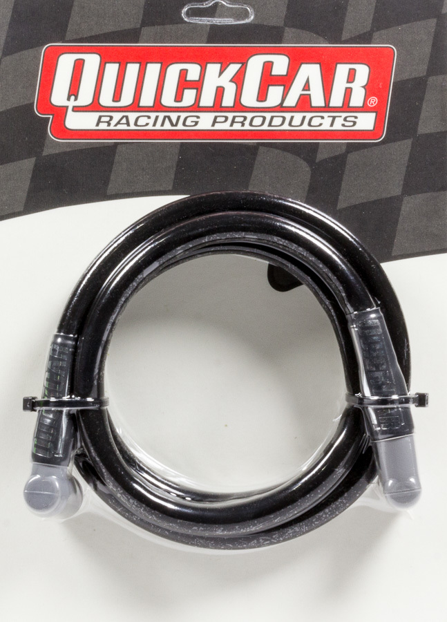 Quickcar Racing Products Coil Wire - Blk 60in HEI/Socket