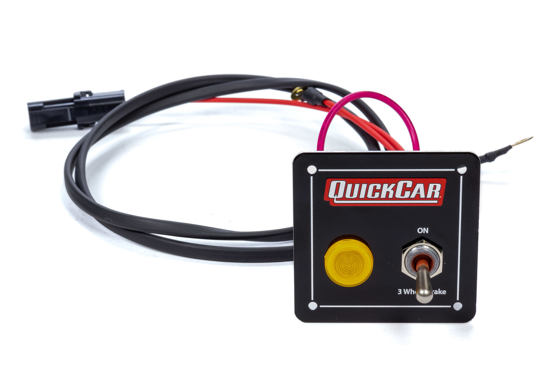 Quickcar Racing Products 3-Wheel Brake Panel w/ Light