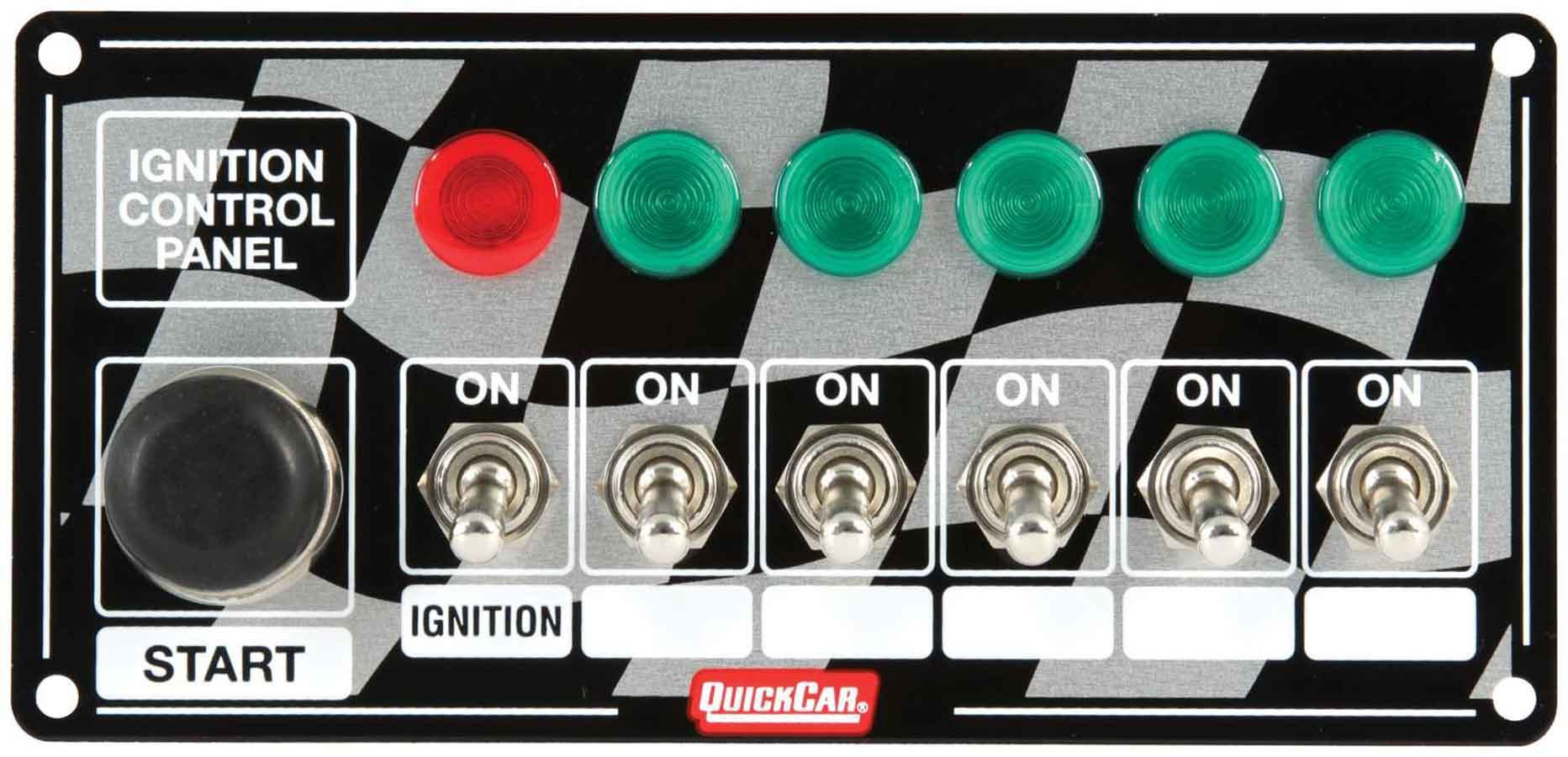 Quickcar Racing Products ICP20.5 - Ignition Panel