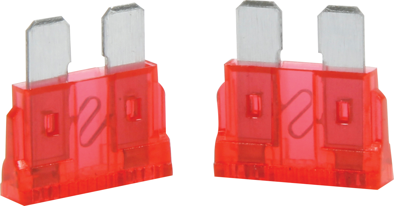 Quickcar Racing Products 10 Amp ATC Fuse Red 5pk