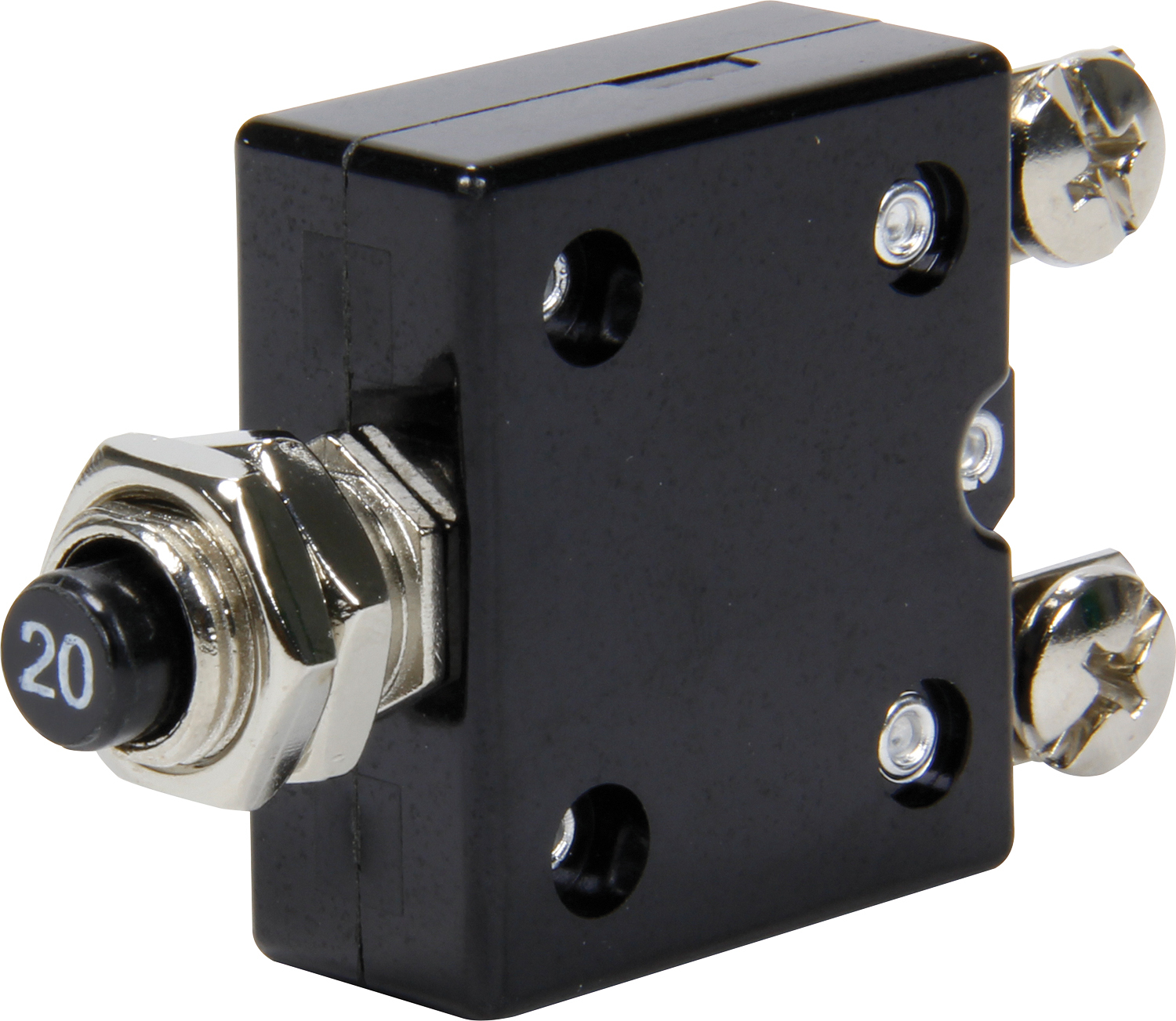 Quickcar Racing Products 20 Amp Resettable Circuit Breaker