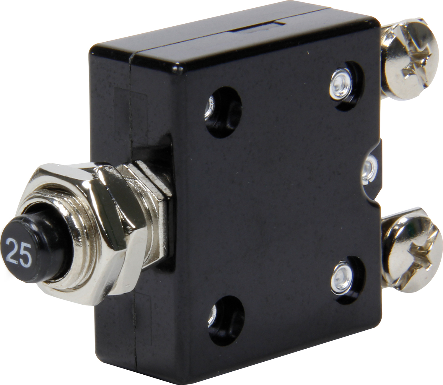 Quickcar Racing Products 25 Amp Resettable Circuit Breaker