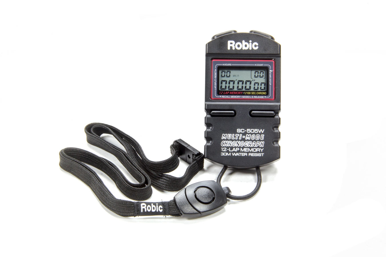 Quickcar Racing Products Stopwatch Black