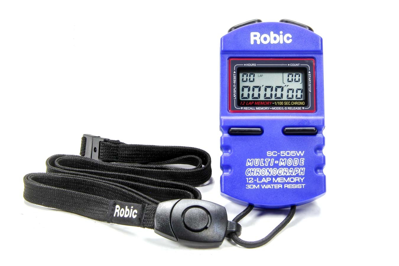 Quickcar Racing Products Stopwatch Blue
