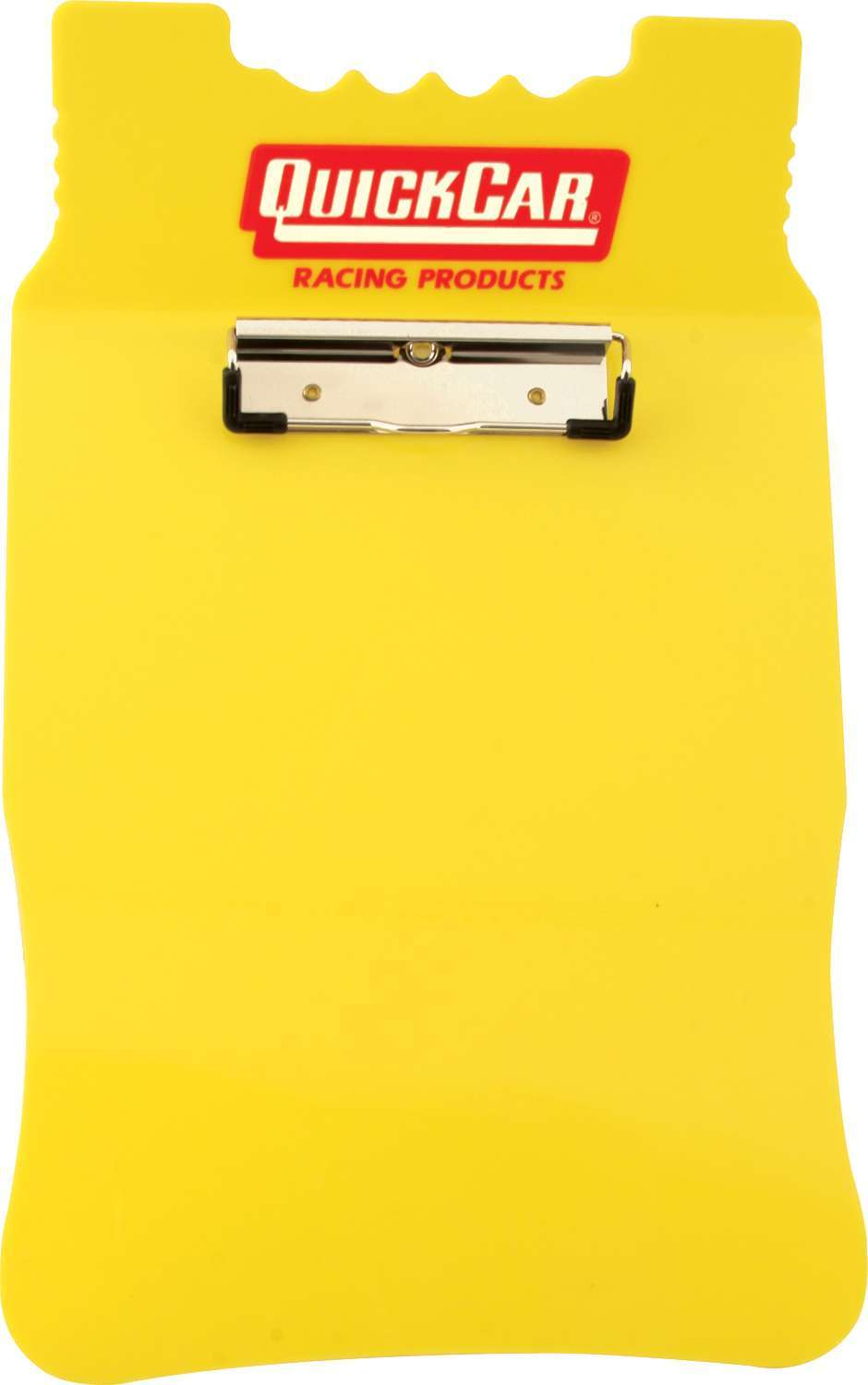 Quickcar Racing Products Acrylic Clipboard Yellow