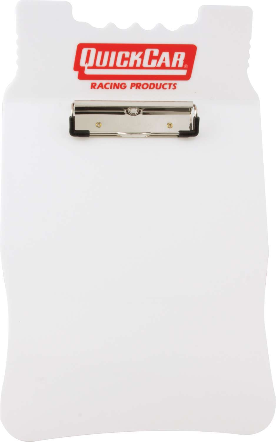 Quickcar Racing Products Acrylic Clipboard White