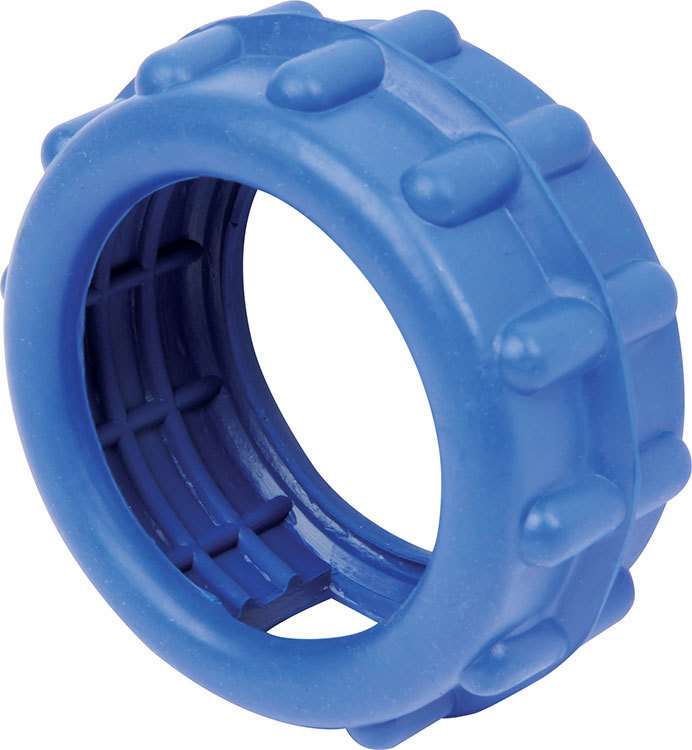 Quickcar Racing Products Air Gauge Shock Ring Blue Rubber
