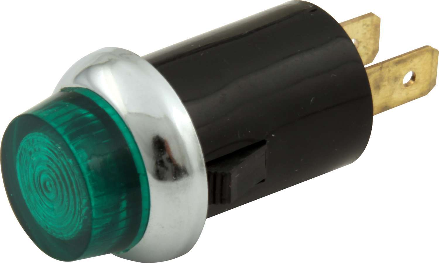 Quickcar Racing Products Warning Light 3/4  Green Carded