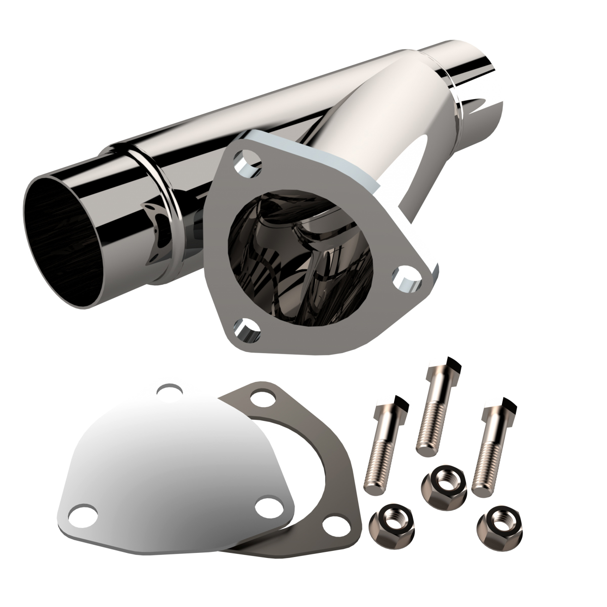 Quick Time Performance 2.25 Inch Stainless Stee l Exhaust Cutout