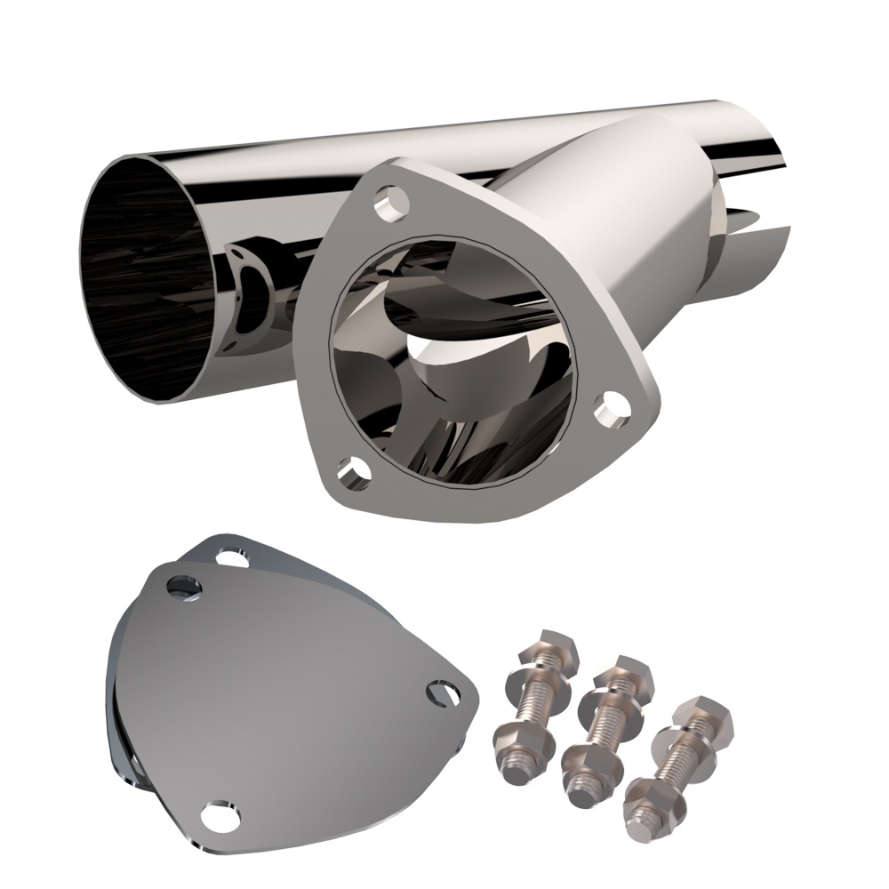 Quick Time Performance 3.00 Inch Stainless Stee l Exhaust Cutout