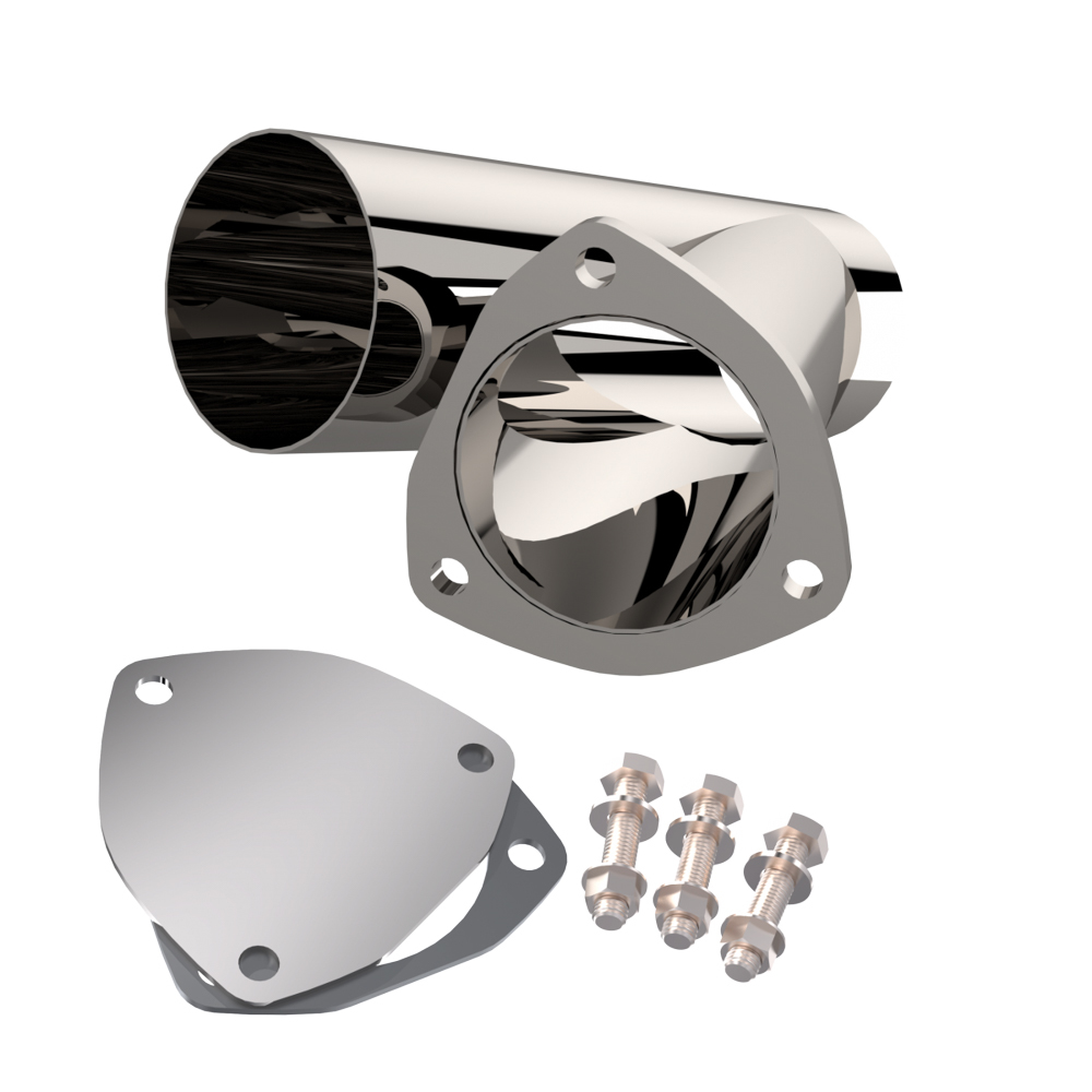Quick Time Performance 3.50 Inch Stainless Stee l Exhaust Cutout