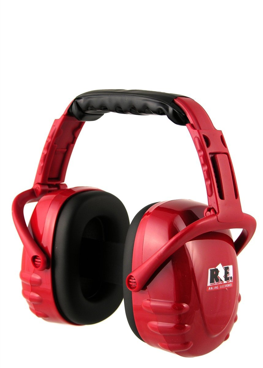 Racing Electronics Hearing Protector Red