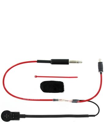 Racing Electronics Helmet Kit Std Flex Boom w/ Straight Cord
