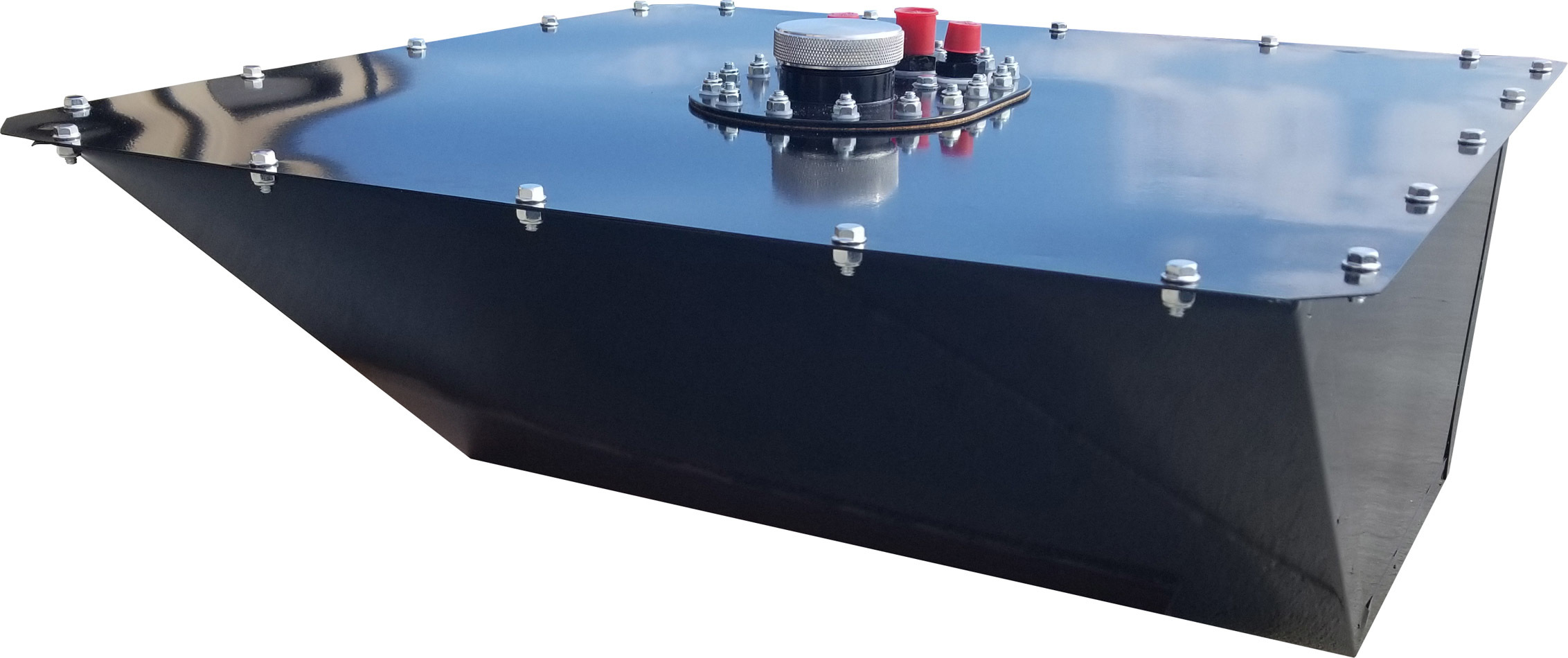 Rci Fuel Cell Wedged 16 Gal Black 10an Pickup