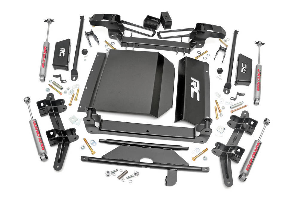 Rough Country 88-98 GM P/U 4in Suspension Lift Kit