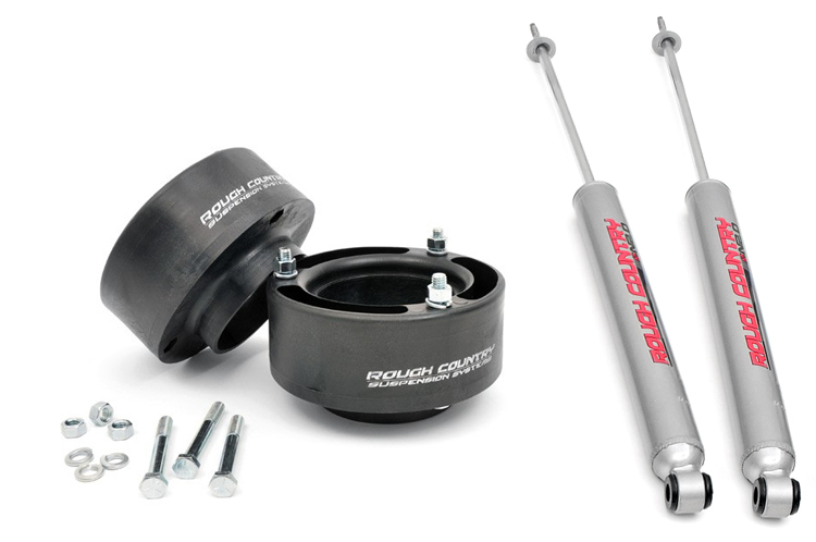 Rough Country 94-13 Dodge Ram 2500 2.5in Front Leveling kit