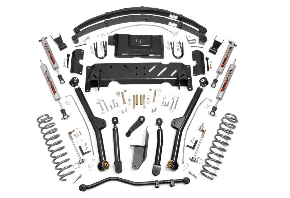 Rough Country 6.5in Jeep Long Arm Susp ension Lift System (84-0