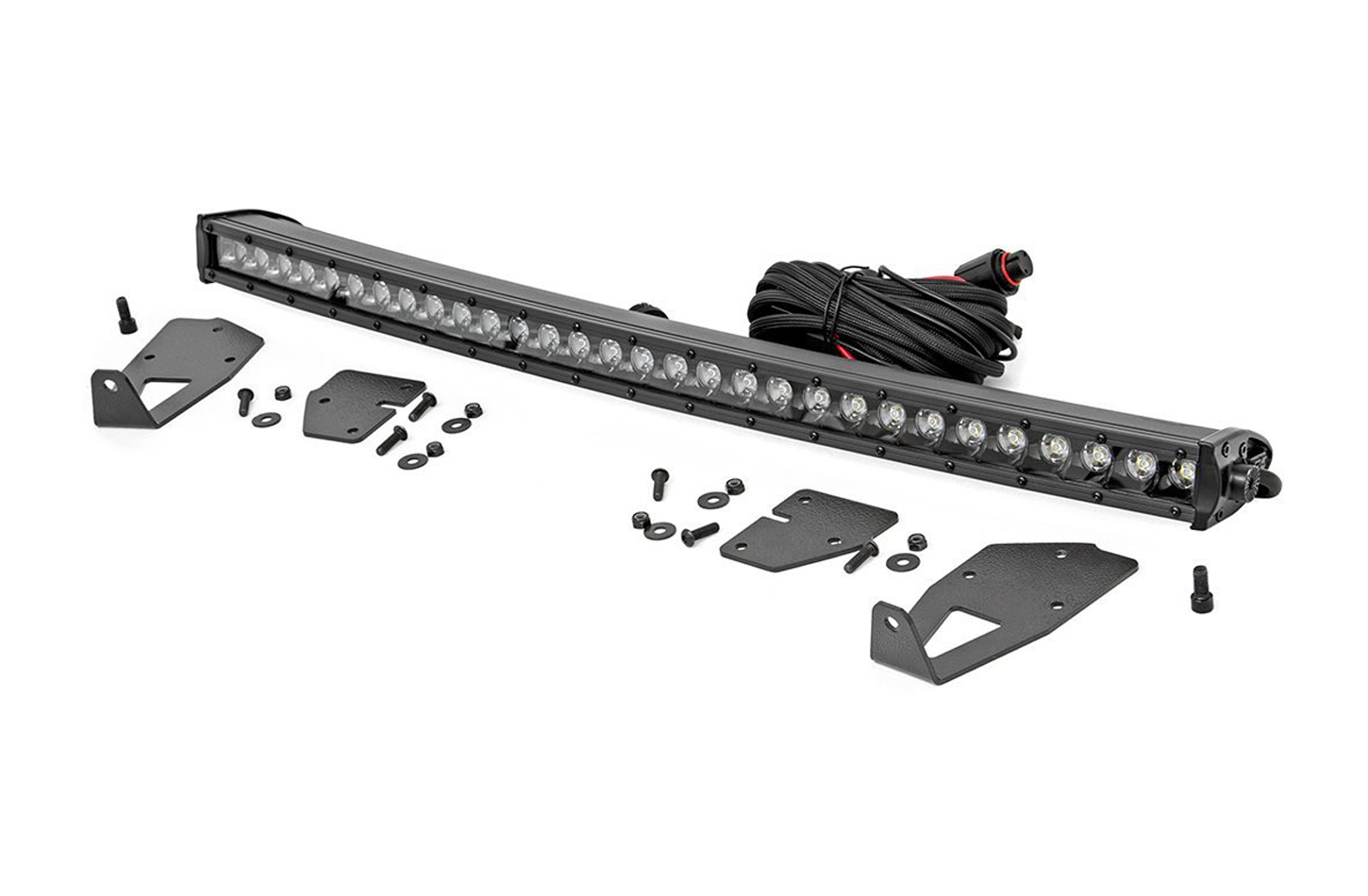 Rough Country Ford 30in LED Hidden Gri lle Kit (17-20 F-150 Rap