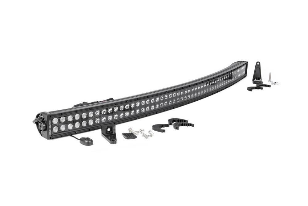 Rough Country 54-inch Black Series Dua l Row Curved CREE LED Li