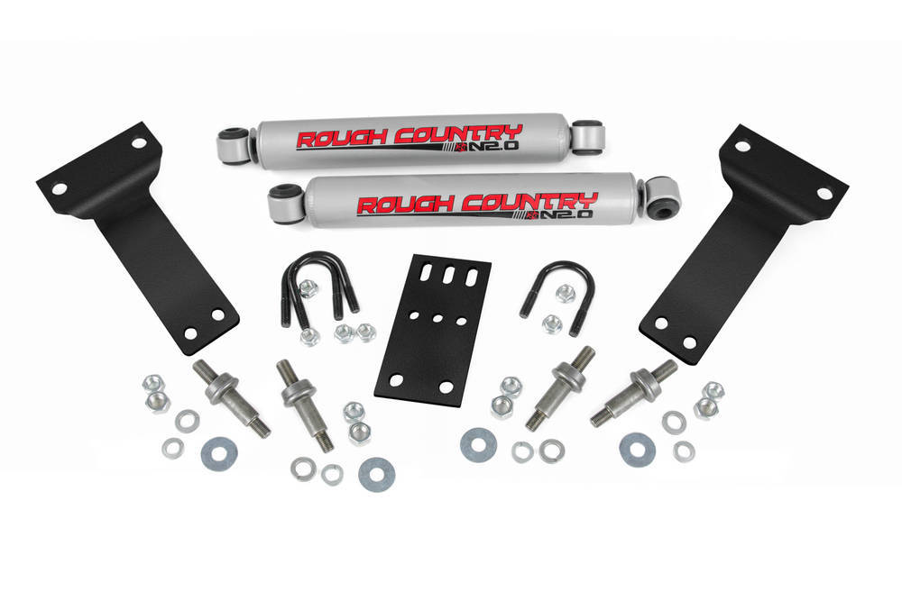 Rough Country Dual Steering Stabilizer