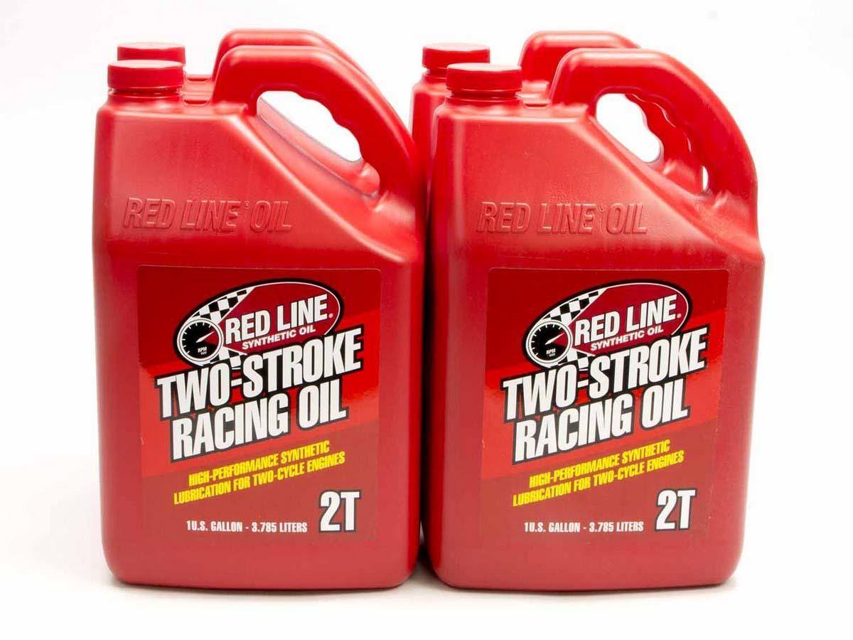 Redline Oil 2 Cycle Racing Oil Case 4x1 Gallon