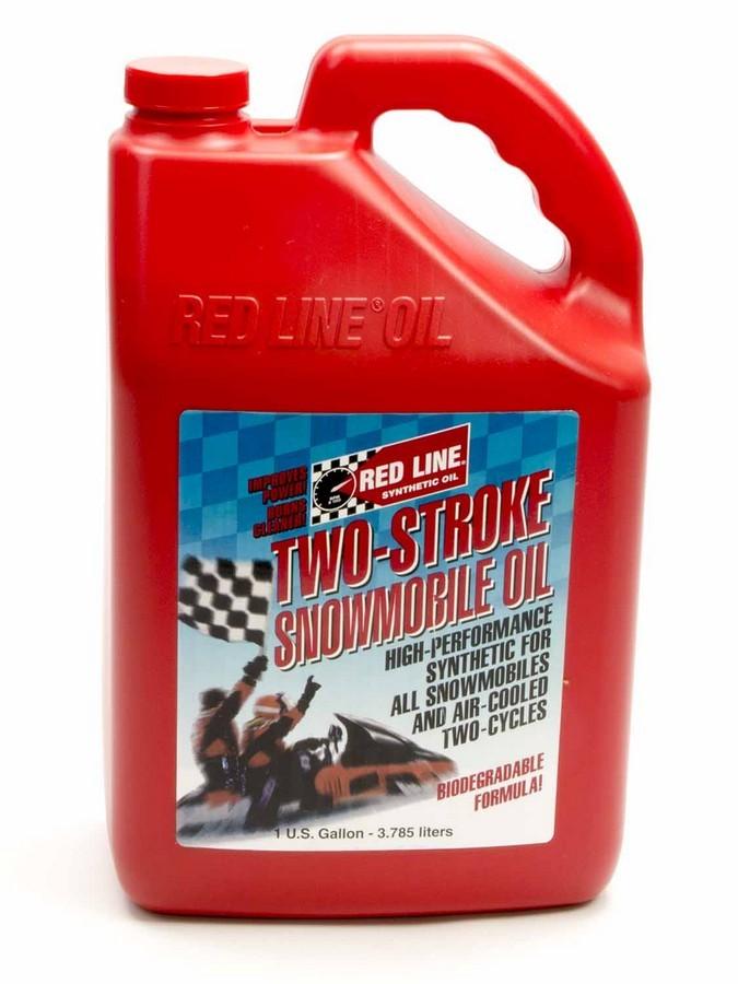 Redline Oil 2 Stroke Snowmobile Oil 1 Gallon
