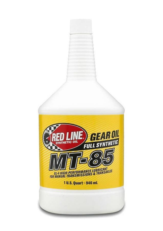 Redline Oil Gear Oil 75w85 GL-4/MT- 85 1Quart