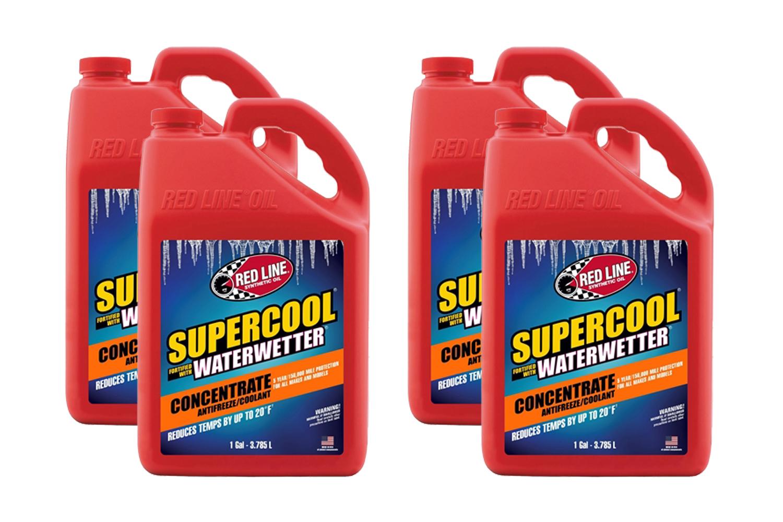 Redline Oil Supercool Concentrate Coolant Case 4x1 Gallon