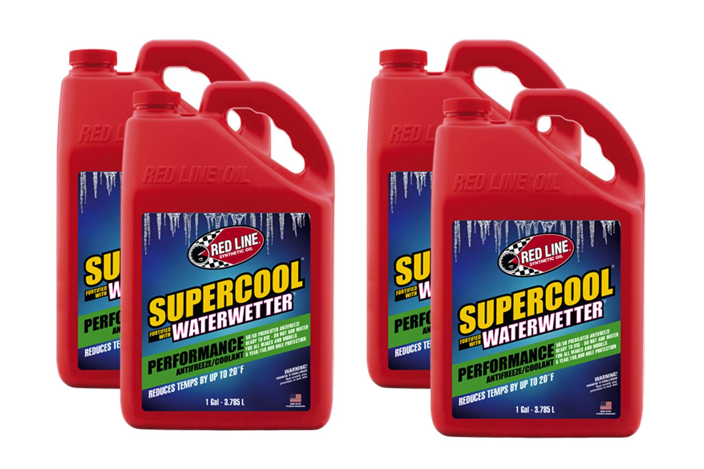 Redline Oil Supercool Performance Coolant Case 4x1 Gallon