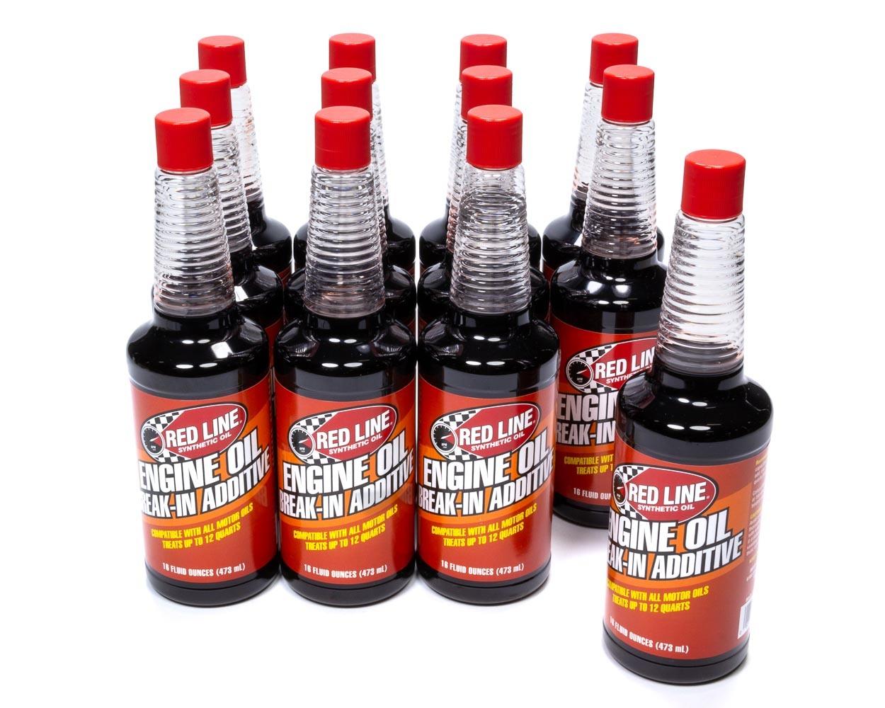 Redline Oil Break-In Oil Additive w/ Zinc Case/12-16oz