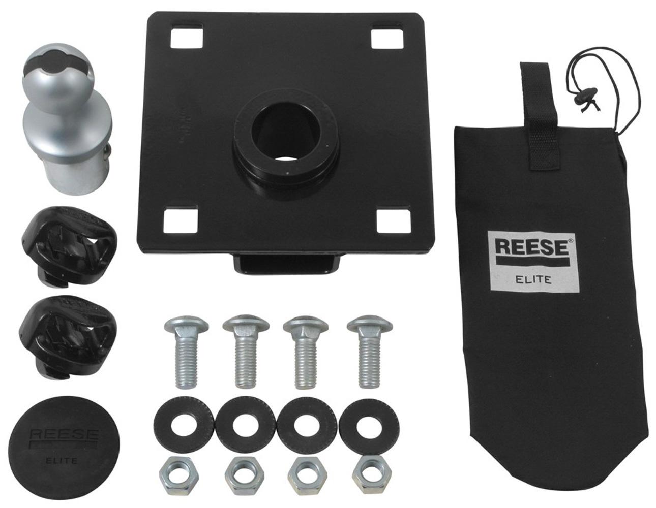 Reese Elite Series Under-Bed B olt-On Gooseneck Head wi