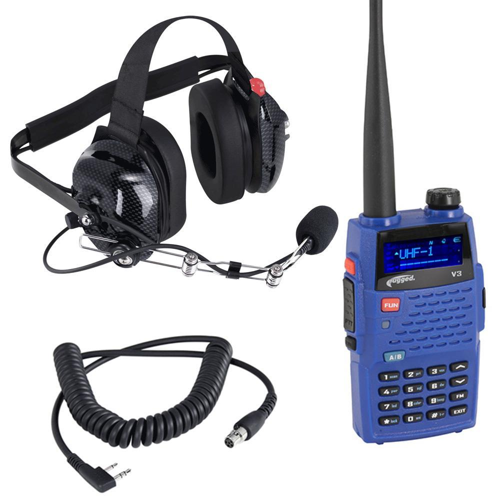 Rugged Radios Radio Kit Crew Chief / Spotter V3 Analog