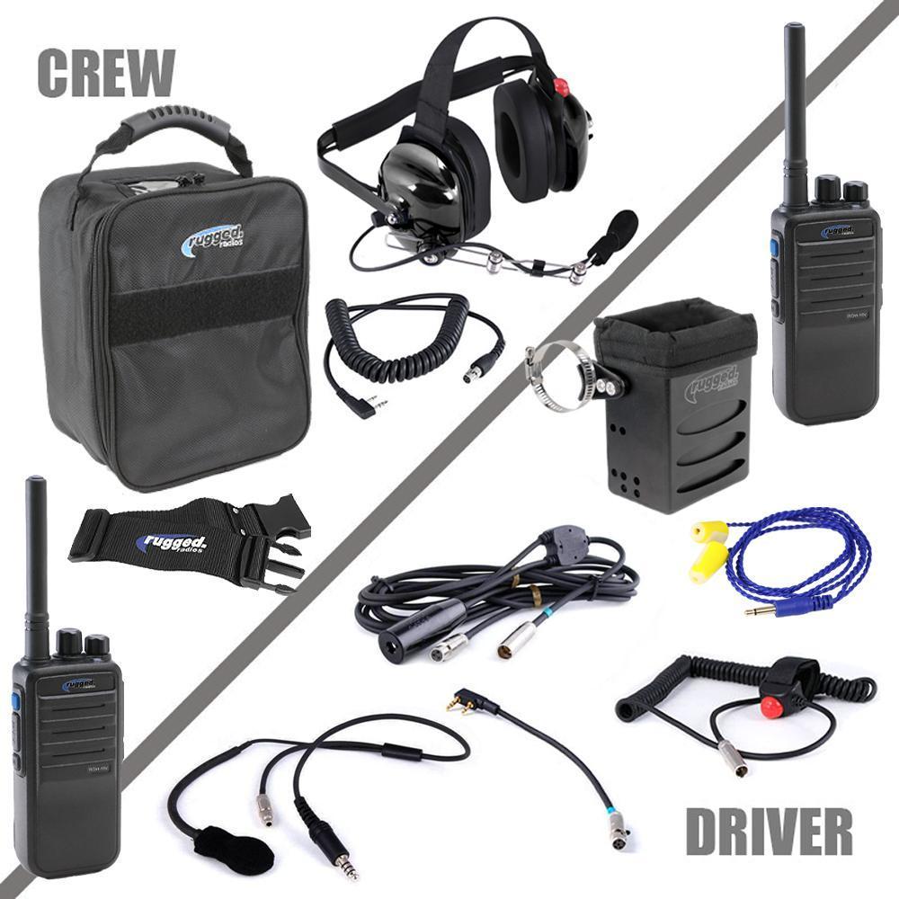 Rugged Radios Radio System Complete Team IMSA 4C Digital UHF