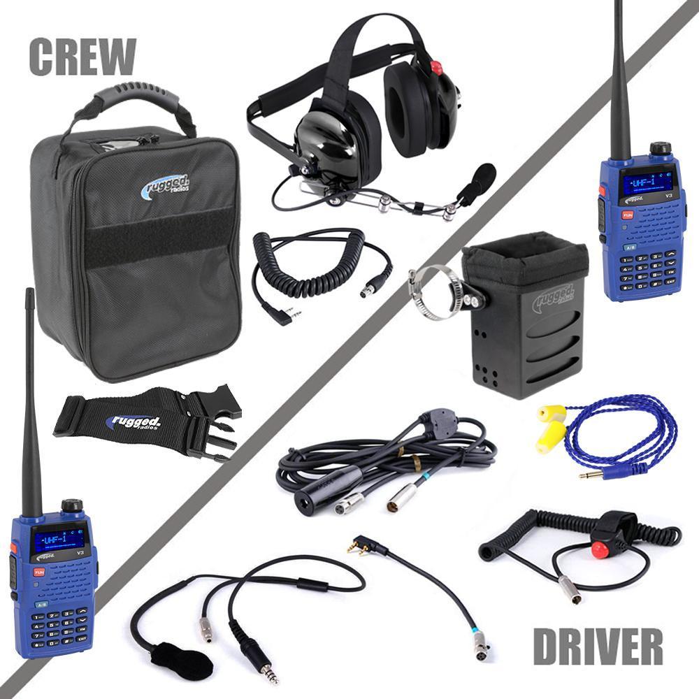 Rugged Radios Radio System Complete Team IMSA 4C V3 UHF/VHF