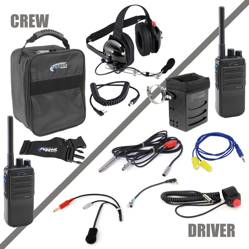 Rugged Radios Radio System Complete Team NASCAR 3C Digital