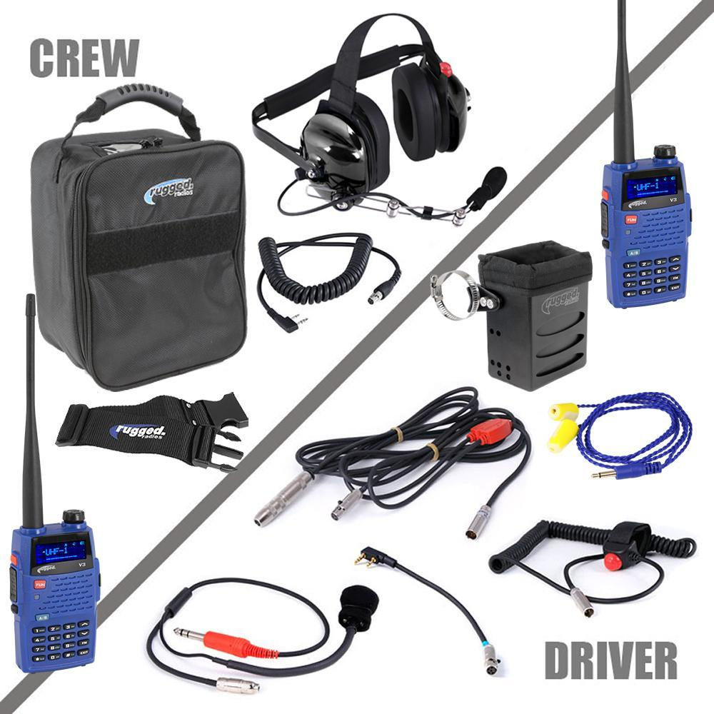 Rugged Radios Radio System Complete Team NASCAR 3C UHF/VHF