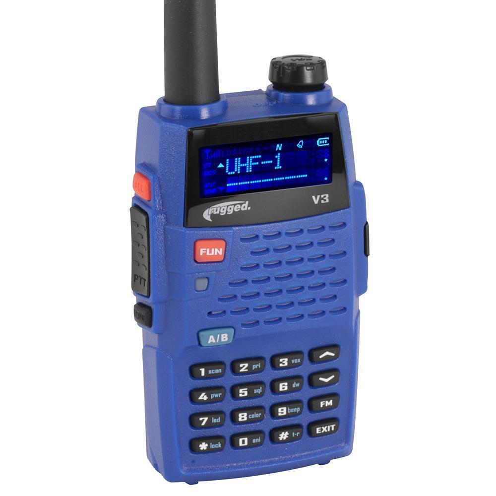 Rugged Radios Radio Rugged V3 Analog VHF / UHF