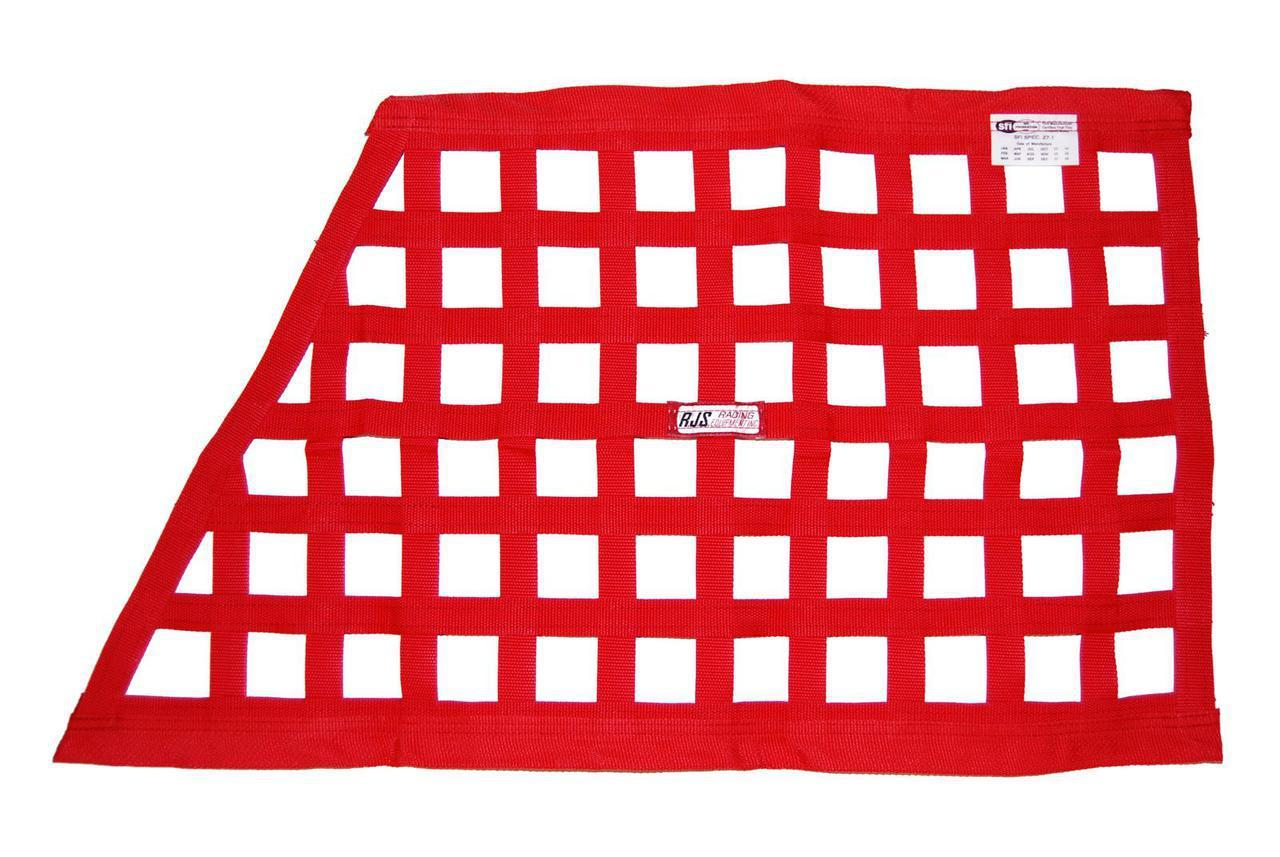 Rjs Safety Red Gn Window Net