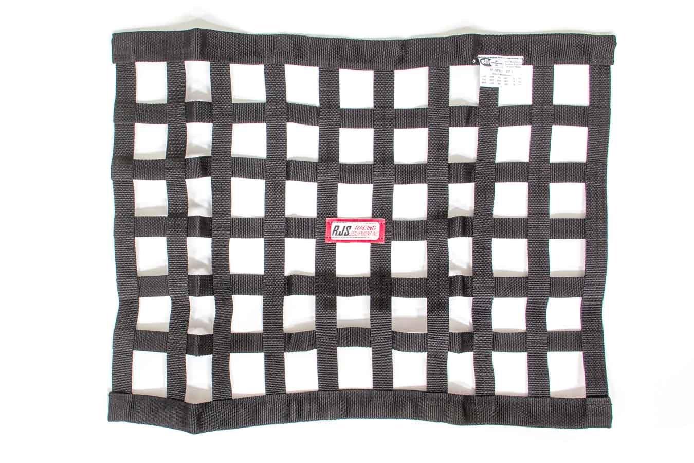 Rjs Safety Black Ribbon Window Net 18x24