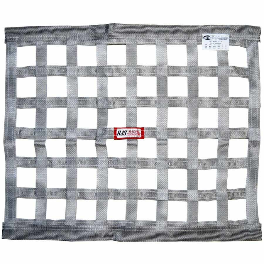 Rjs Safety Gray Ribbon Window Net 18x24