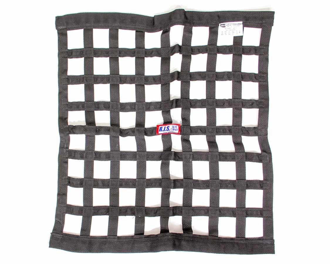 Rjs Safety Ribbon Window Net 24x24 Black SFI